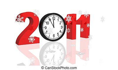 2011, nouvel an