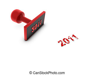 2011, timbre, année