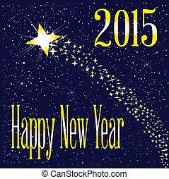 2015, levée, étoile