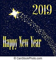 2019, levée, étoile