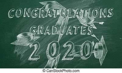 2020, félicitations, graduates.