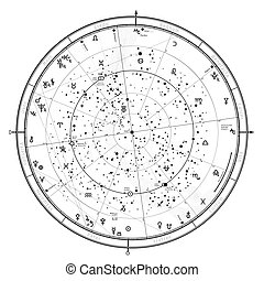 2021., janvier, astrologique, horoscope, 1