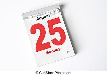 25., août, 2013