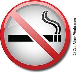 2d, signe tabagisme, non