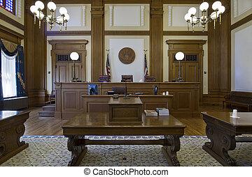 3, appels, tribunal, salle audience