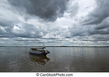 3, voyage, bateau