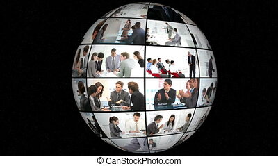 3d animation, businesspeople