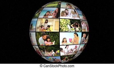 3d animation, vie famille