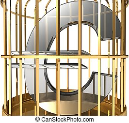 3d, cage, euro