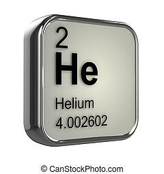 3d, hélium, élément