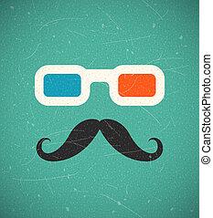 3d, hipster, cinéma