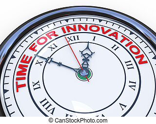 3d, temps, innovation, horloge