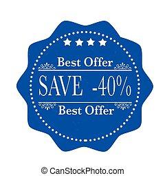 40%, sauver, mieux, offre