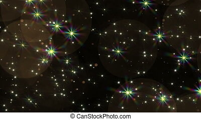 4k, ciel, blinks, étoiles