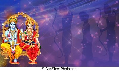 5, festival, indien, ramnavmi, -