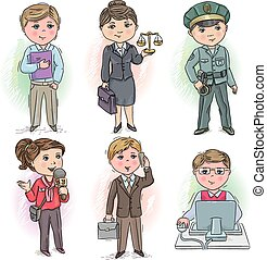 5, profession, gosses