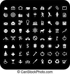 72, icônes
