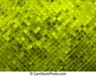 8, arrière-plan., scintillement, vert, eps