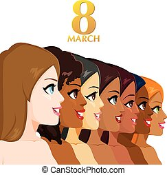 8, mars, femmes