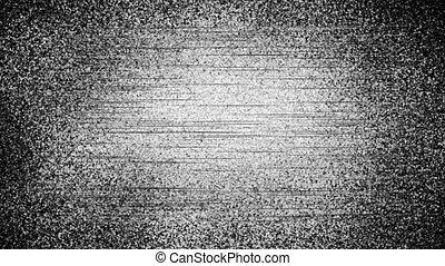 90s, bruit, retro, effets, écran, noir, noise., vhs., abîmer, analogue, glitch, compenser, monochrome, scintiller, blanc, artifacts., texture., statique, 80s, mauvais, interference., tv