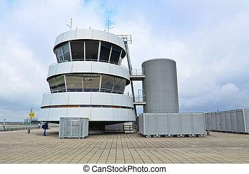 aéroport, observatoire