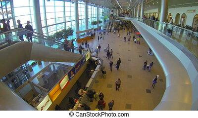 aéroport, vestibule