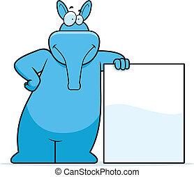 aardvark, penchant