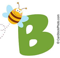 abeille, b, lettres