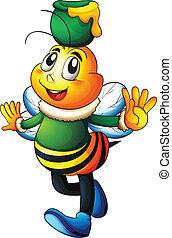 abeille miel