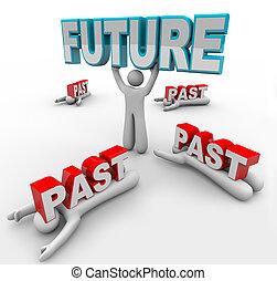 accepts, passé, collé, avenir, changement, autres, éditorial, vision