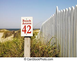 access., plage