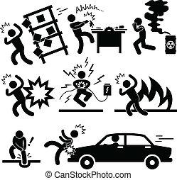 accident, explosion, risque, danger