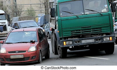 accident, trafic, route