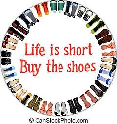 achat, chaussures