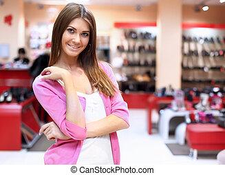 achats, magasin, vêtements