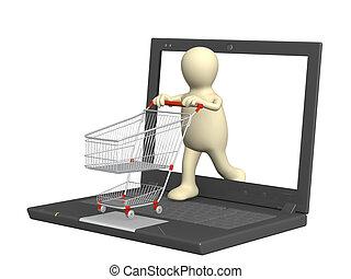 achats, virtuel