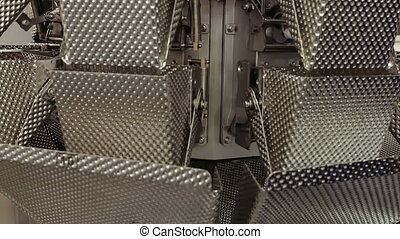 acier, sans tache, industriel, structure