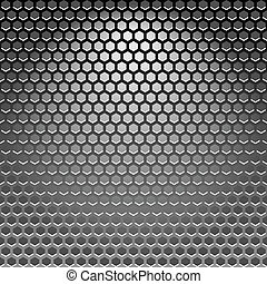 acier, texture
