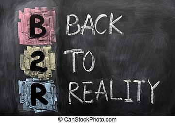 acronyme, réalité, -, b2r, dos