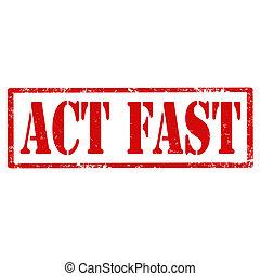 acte, fast-stamp