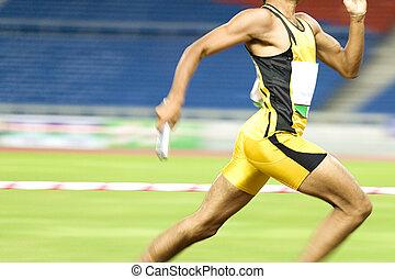 action, athlète