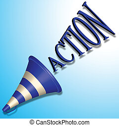 action, commande
