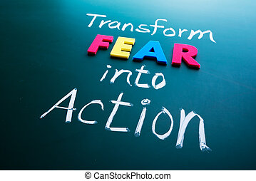 action, peur, concept, transformer