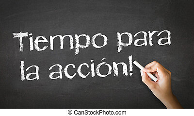 action, spanish), (in, temps