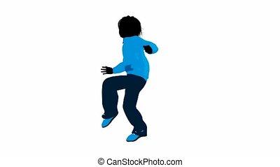 adolescent, urbain, mâle, danse