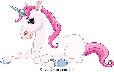 adorable, licorne