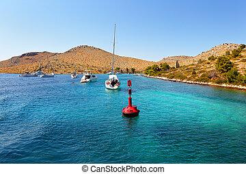 adriatique, croatie, mer