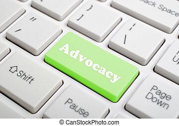 advocacy, clã©, clavier