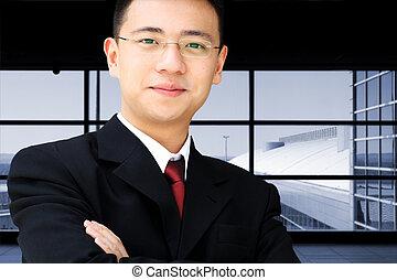 affaires asiatiques, homme
