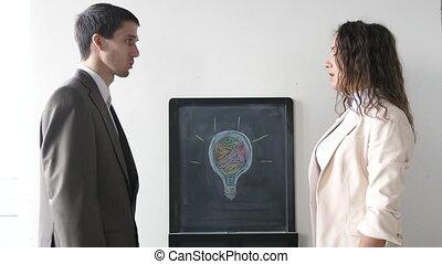 affaires femme, réussi, mains, 3840x2160, quand, deux, deal., suit., secousse, associé, réunion, entre, homme